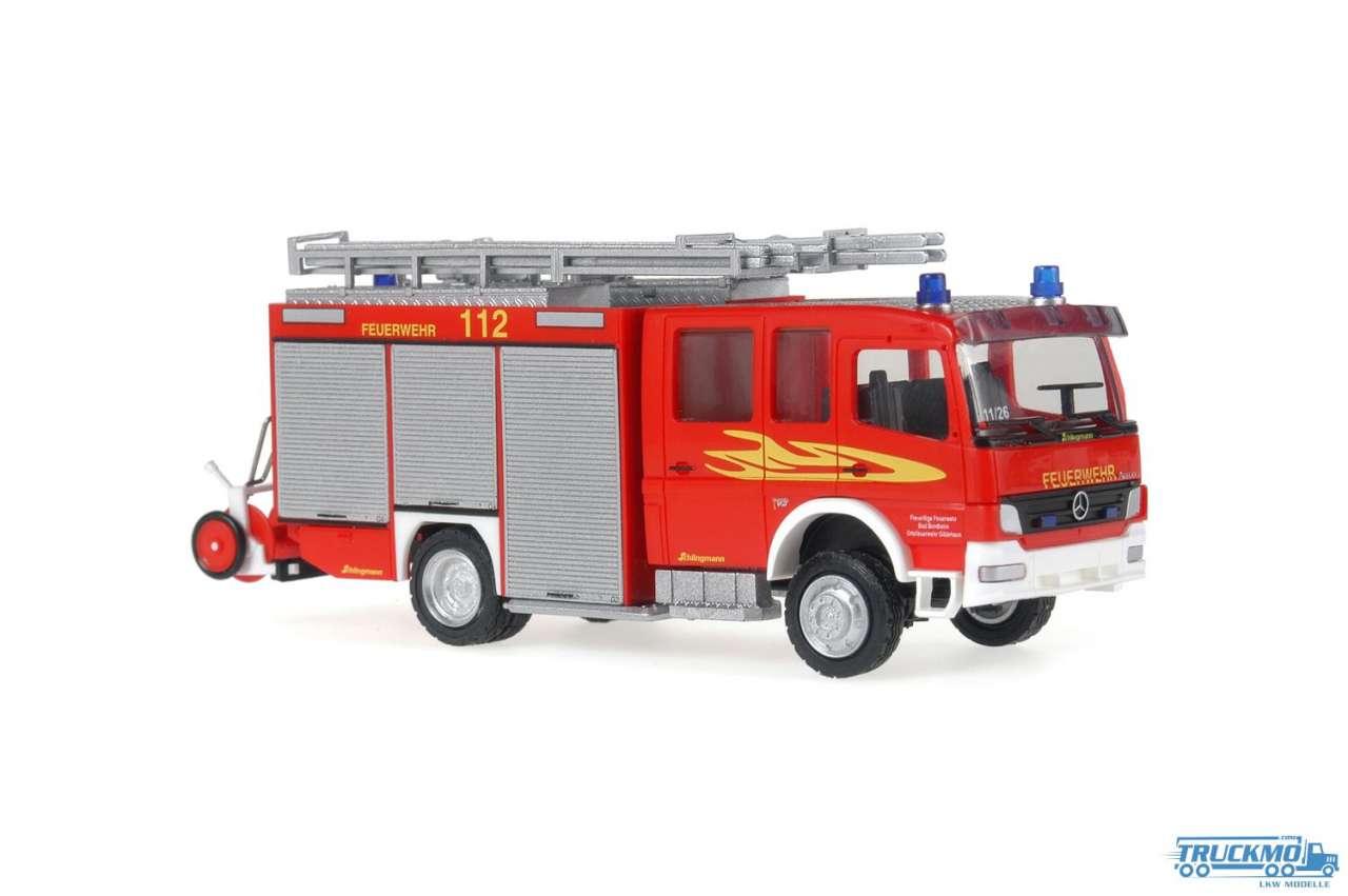 Rietze Feuerwehr Gildehaus Mercedes Benz HLF 20/16 Schlingmann 61131