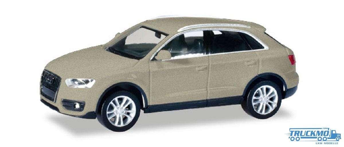Herpa Audi Q3® cuvéesilber metallic 034821-004