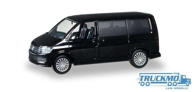 Herpa VW T6 Multivan brillantschwarz 028738