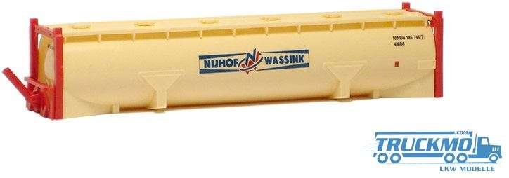AWM Nijhof & Wassink 40ft. Drucksilocontainer 491281