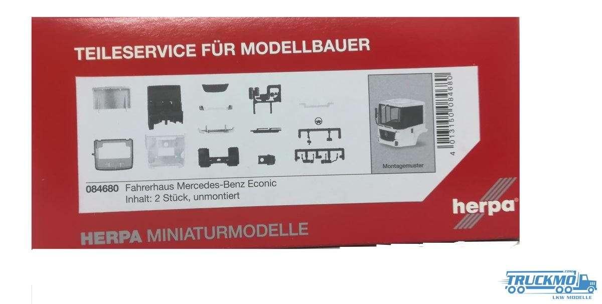 Herpa Fahrerhaus Mercedes-Benz Econic (Inhalt: 2 Stück) 084680