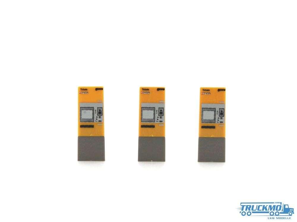 Rietze Fahrkartenautomat DVB Dresden 3 Stück 70300