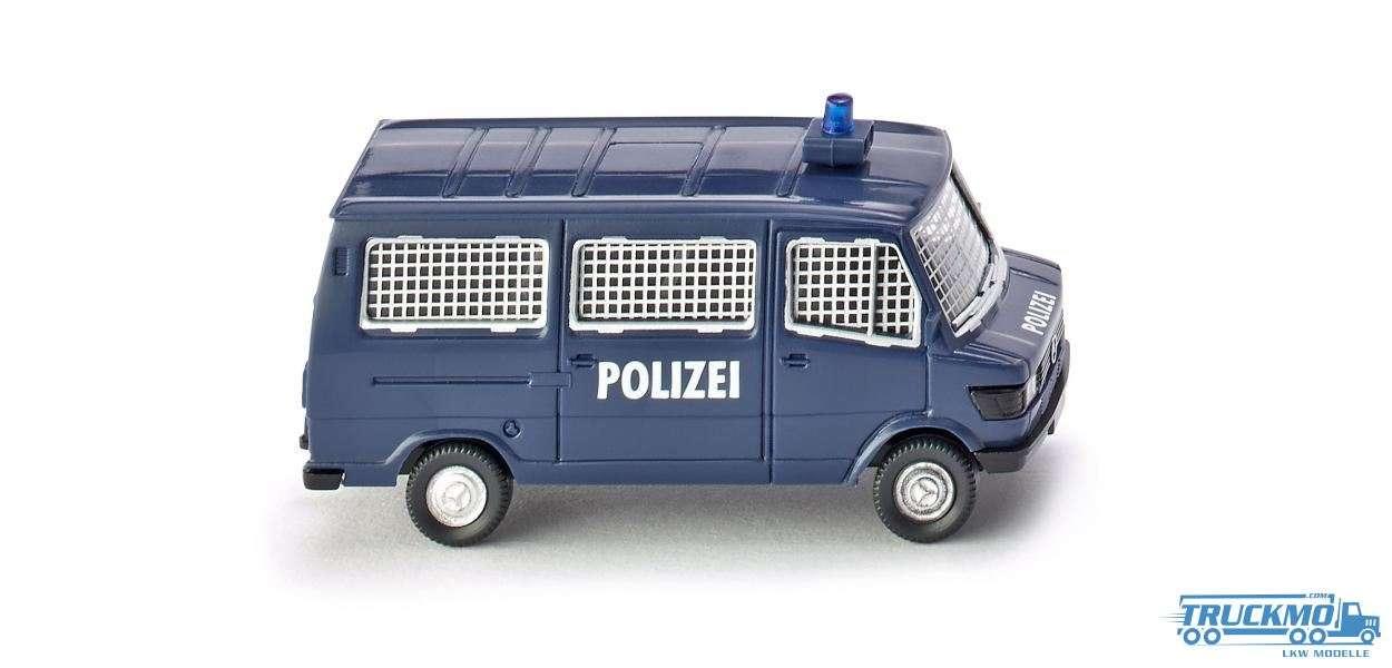 Wiking Polizei Mercedes Benz 207 D Bus 086431