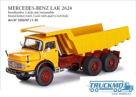 Conrad Mercedes Benz LAK 264 Rundhauber 3-Achs mit Steinmulde 1052/07