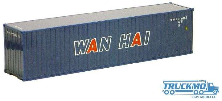 AWM WAN HAI 40ft. High Cube Container gerippt 491616