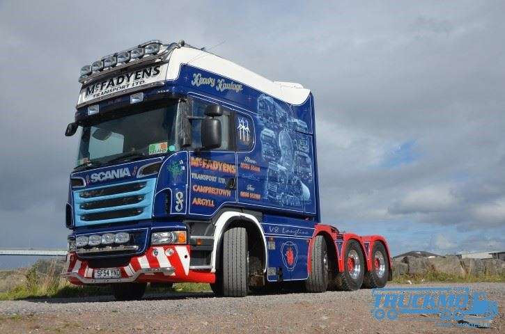 Tekno Mc Fadyens Scania R-Serie Longline 74277