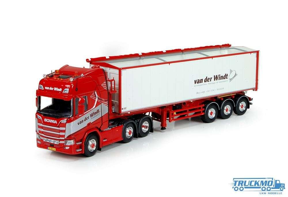 Tekno van der windt scania ngs r tipper trailer 69779 truckmo
