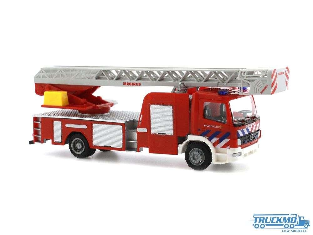 Rietze Brandweer Mercedes Benz Atego Magirus DLK Drehleiter 71613