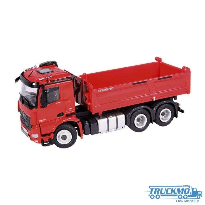 NZG Mercedes Benz Arocs 3 axle tipper 92310