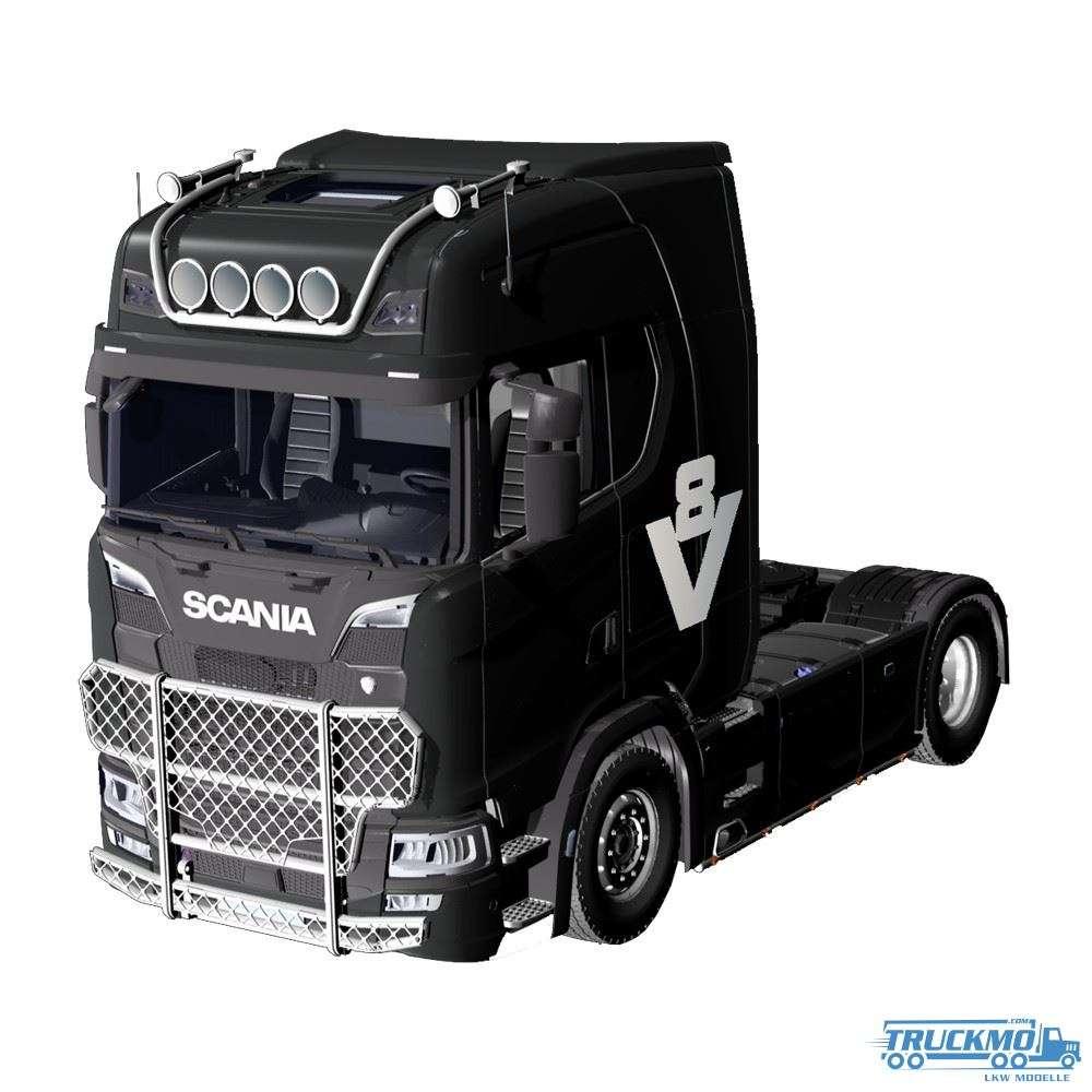 NZG Scania 730S schwarz V8 1019/51