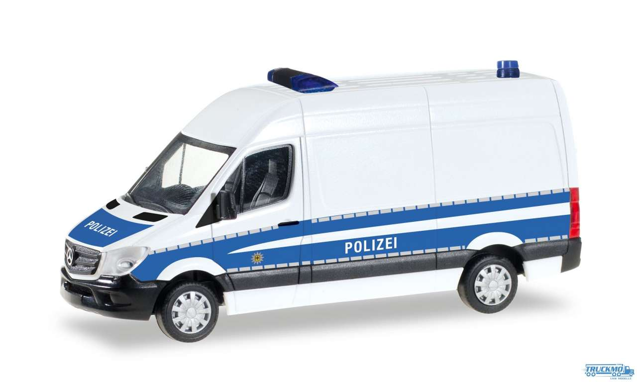 Herpa Bundespolizei Mercedes Benz Sprinter Kasten HD 093316