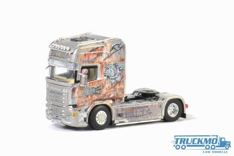 WSI Autotrasporti S.T.R. LKW Modell Scania Streamline Topline 01-2735