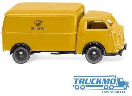 Wiking Deutsche Post Tempo Matador Kastenwagen 033503