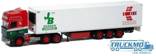 "AWM JB Bertelsen LKW Scania ""09"" Topl./Aerop. -Kühl-KSZ Modell"