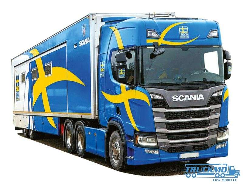 AWM Scania Schweden Scania R Renntransporter 9241.61