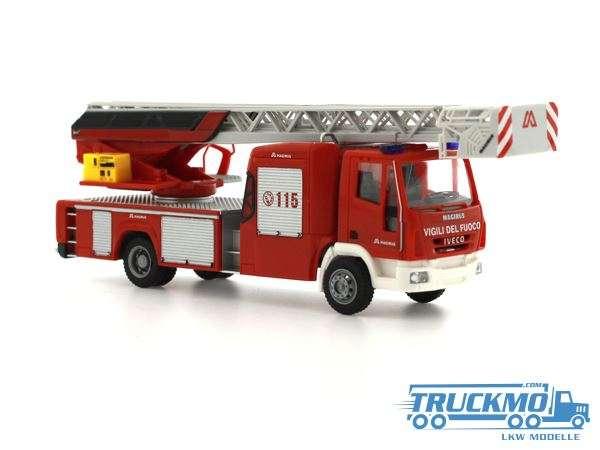 Rietze Vigili del Fuoco Iveco DLK 32 Euro 6 Drehleiter 72604