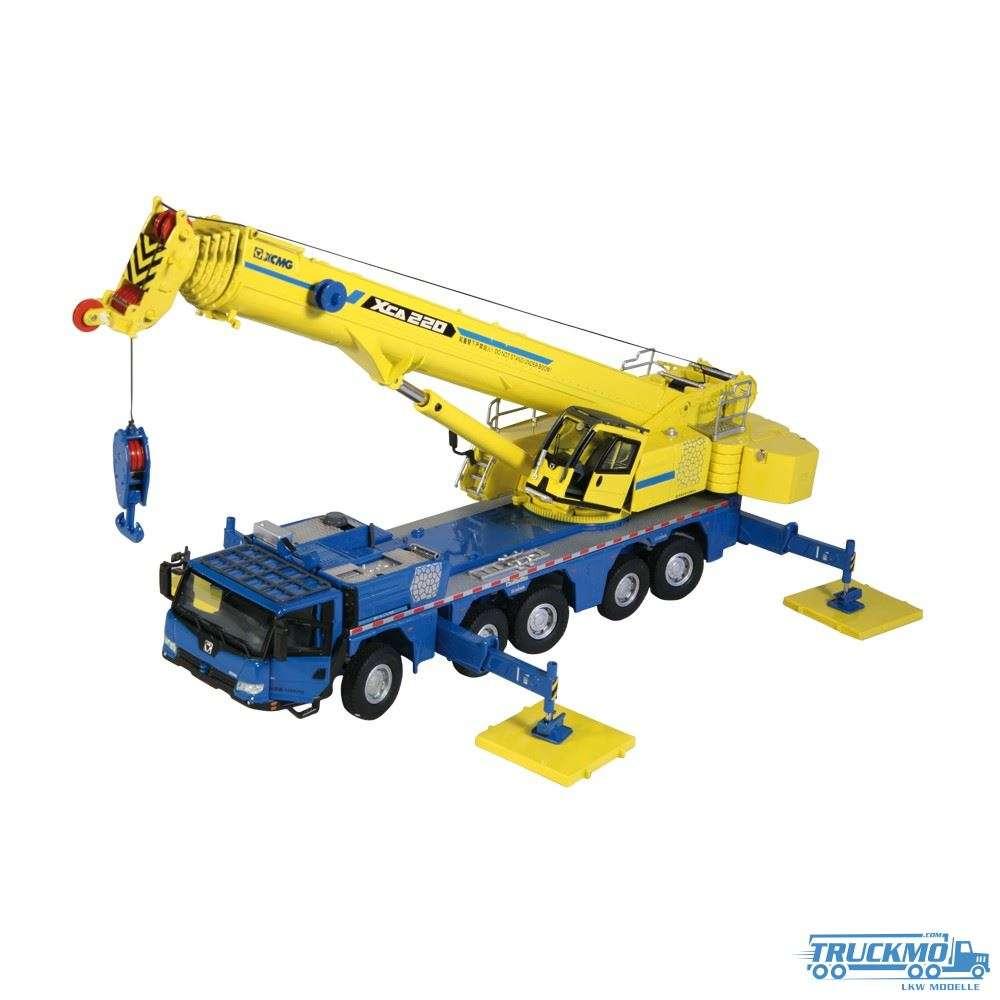 NZG XCMG XCA 220 Mobilkran blau/gelb VAKF-0009