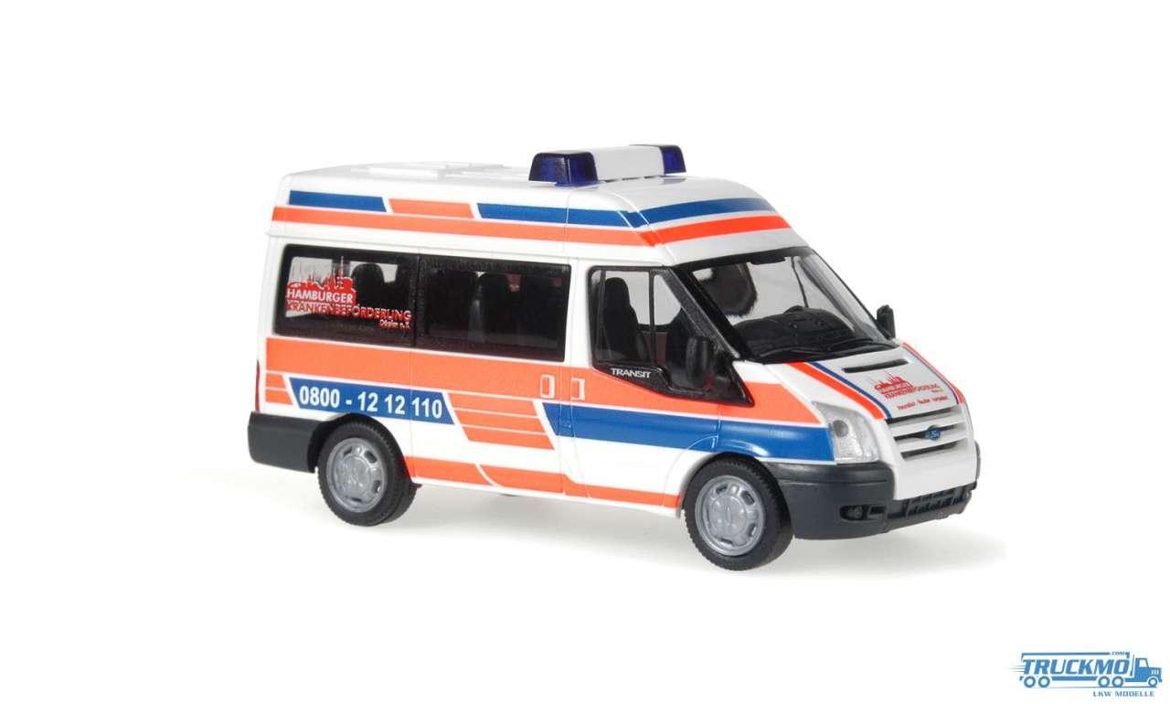 Rietze Hamburger Krankenbeförderung Ford Transit 06 51527