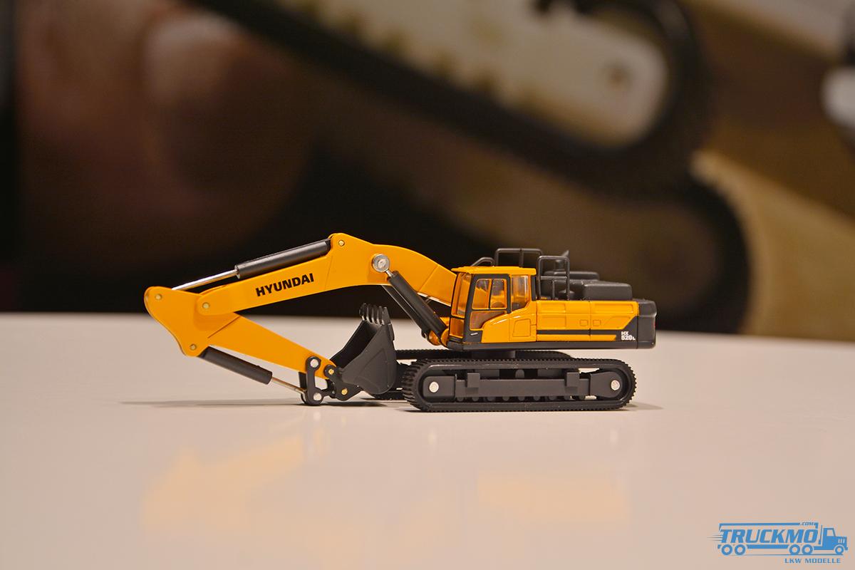 IMC Hyundai HX520L 3 Excavator 31-0080