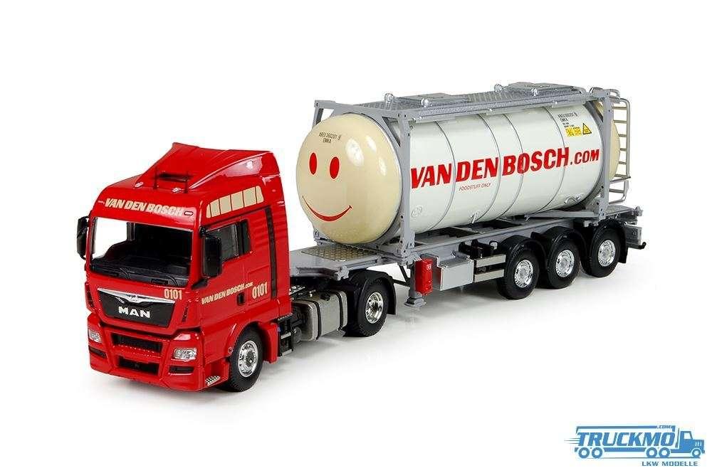 Tekno Van den Bosch MAN TGX XLX Tankcontainer 71657