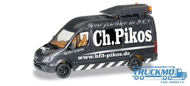 Herpa Ch. Pikos Mercedes-Benz Sprinter `13 BF3 092845
