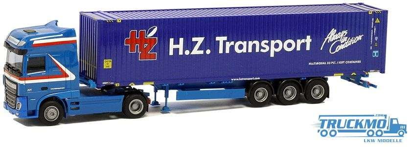 AWM H. Z. Transport DAF XF 106 Super Space Cab 45ft. Container 75321