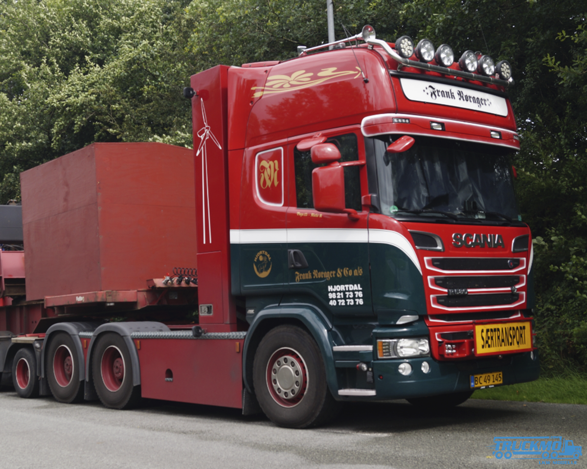 WSI Frank Norager Scania Streamline Topline 6x4 + add on axle 01-2663