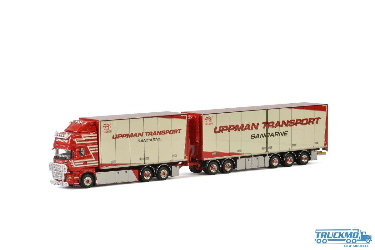 WSI Uppman Transport Scania R Streamline Toplien Combi 01-2261