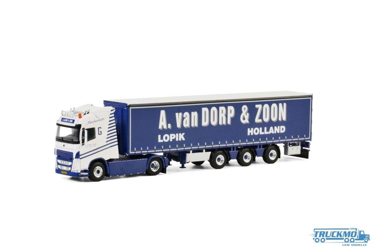 WSI A van Dorp & Zoon Volvo FH04 Globetrotter Planenauflieger 01-2742
