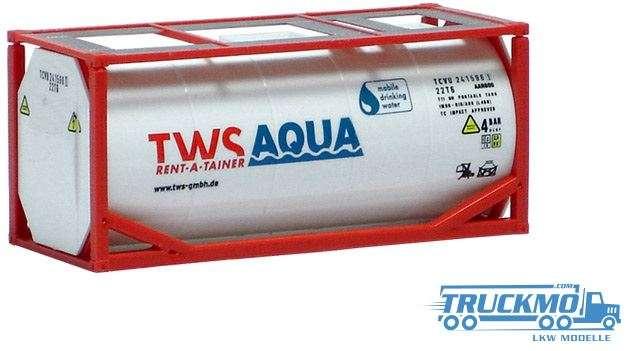 "AWM TWS ""Aqua"" 20ft. Tankcontainer 492019"