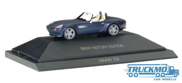 """Herpa BMW Z8 """"BMW History Edition"""" 102063"""