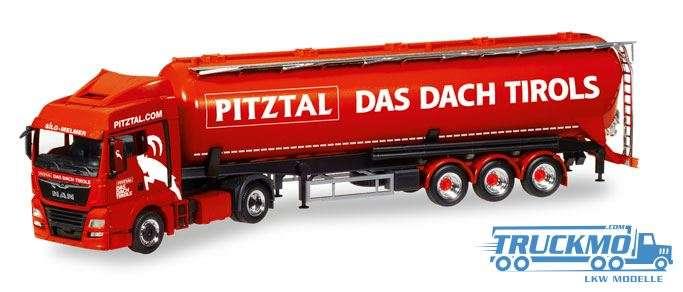 Herpa Melmer Pitztal - Das Dach Tirols MAN TGX XLX Euro 6c Silo-Sattelzug 308502