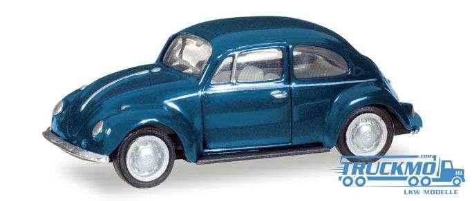 Herpa VW Käfer stahlblau 022361-006