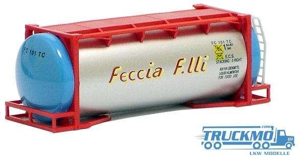 AWM Feccia F.lli 20ft. van Hool Tankcontainer überlang 491143