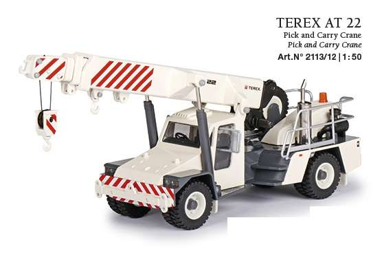 Conrad Modelle Terex AT 22 Pick and Carry Crane 2113/12