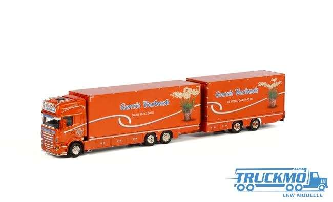 WSI Gerrit Verbeek Scania R Topline Hängerzug