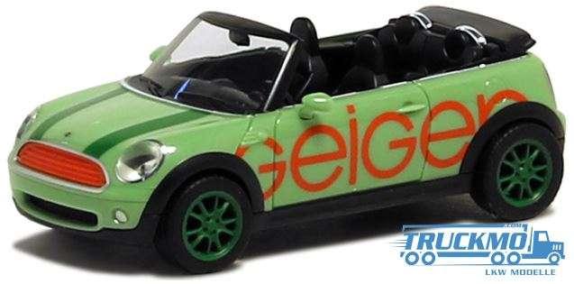 Herpa Geiger Mini Cooper Cabrio 936248 Truckmocom Lkw Modelle
