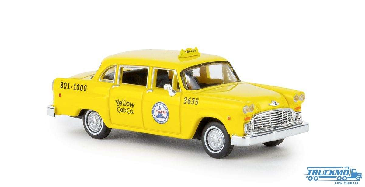 Brekina Los Angeles Checker Cab 58923