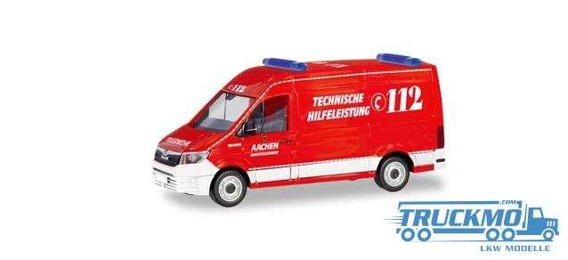 Herpa Feuerwehr Aachen / Technische Hilfeleistung MAN TGE Kasten HD 094900