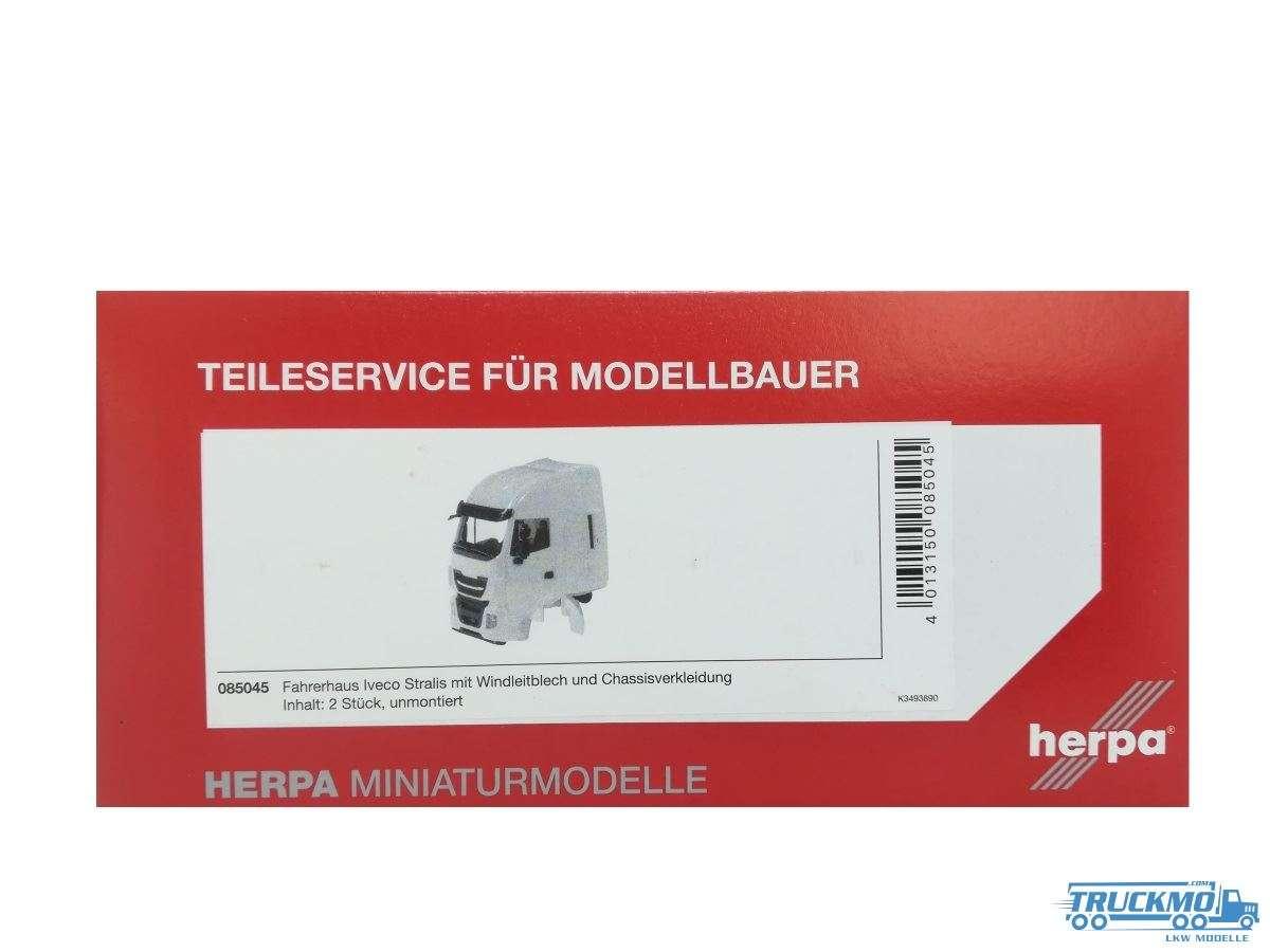 Herpa Fahrerhaus Iveco Stralis mit WLB und CV 085045