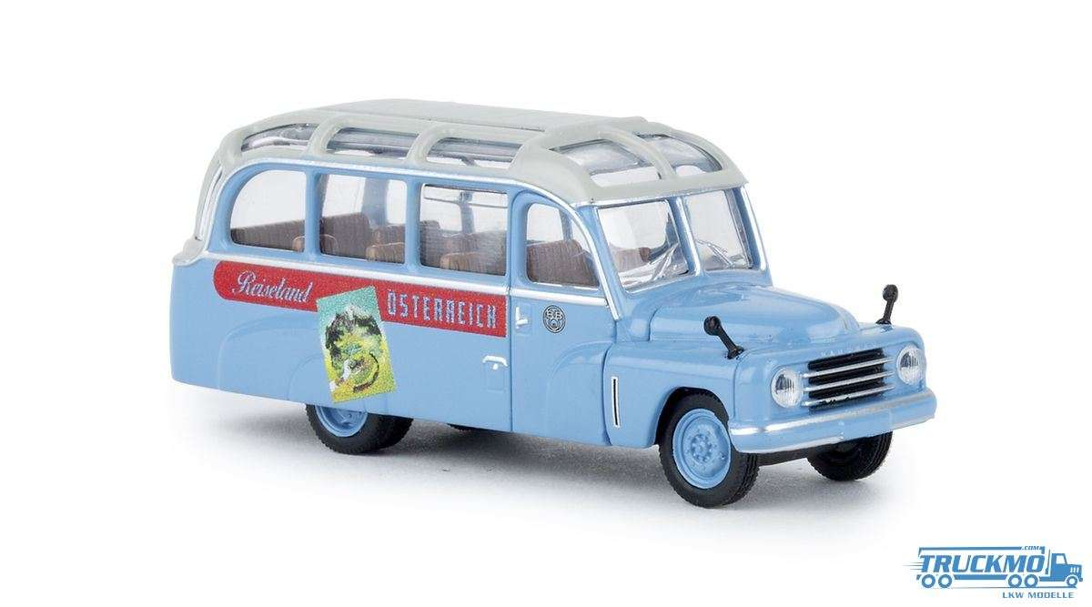 Brekina ÖBB Reiseland Hanomag L 28 Lohner Bus 58188