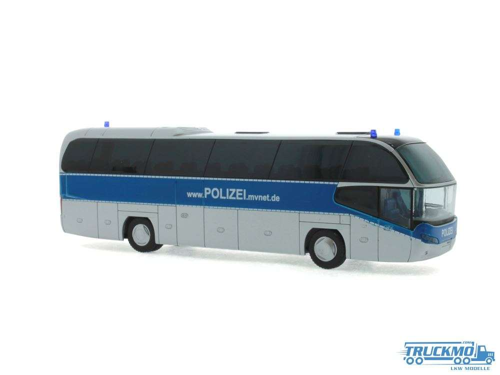 Rietze Modelle Landespolizei Mecklenburg Vorpommern Neoplan Cityliner 07 67134