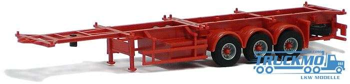 AWM Container Chassis 40ft. Trailer 3achs (rot) 480282