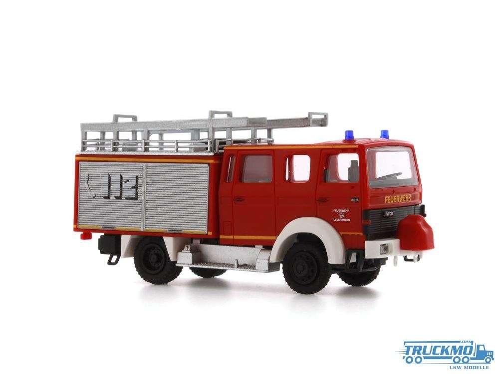 Rietze Feuerwehr Leverkusen Lentner Magirus LF 16-TS 71216