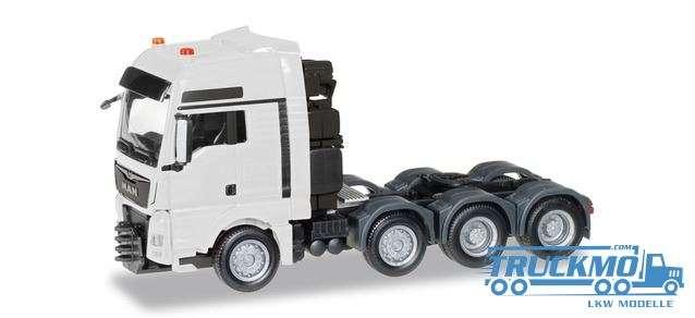 Herpa MAN TGX XXL 640 E6 heavy duty rigid tractor white 304375-003