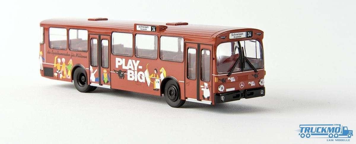 Brekina Schnellbahn PlayBig aus Hamburg Mercedes Benz O 305 Stadtbus 50709