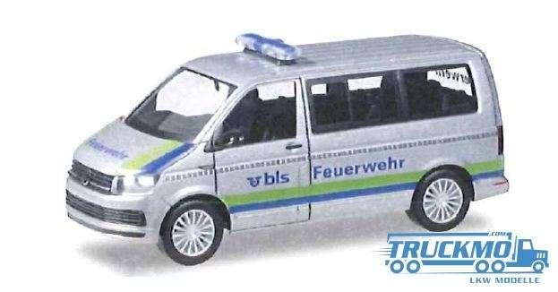 Herpa BLS-AG Feuerwehr VW T6 Bus 931076