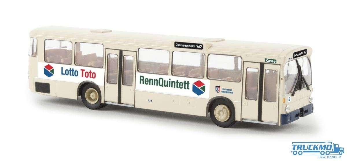 Brekina Lotto aus Oberhausen Mercedes Benz O 305 Stadtbus 50748