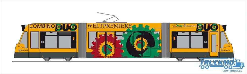 Rietze Weltpremiere Combino Dui Nordhausen Siemens Combino STRA01059