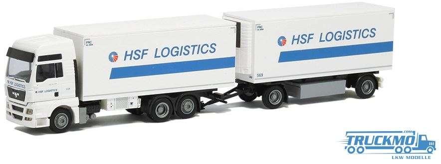AWM HSF Logistics MAN TGX XXL Kühl-Hängerzug 53772